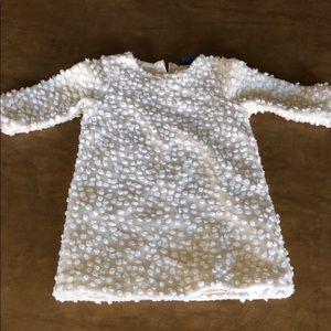 Swiss Dot Winter Dress BabyGap 3T